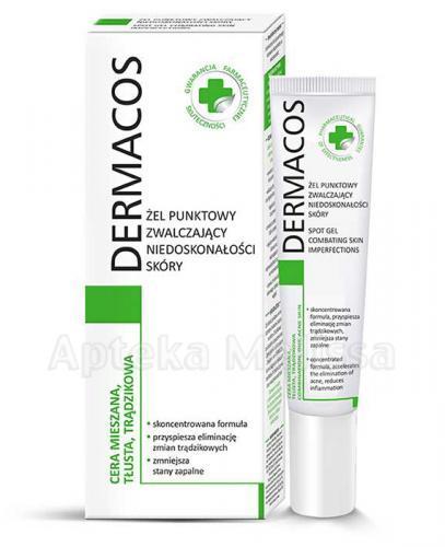 DERMACOS Żel punktowy zwalczający niedoskonałości skóry - 15 ml - Apteka internetowa Melissa
