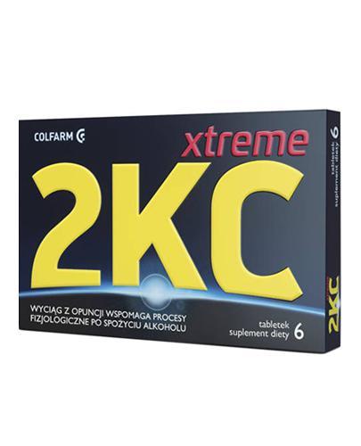 2KC Xtreme - 6 tabl. Sposób na kaca. - Apteka internetowa Melissa