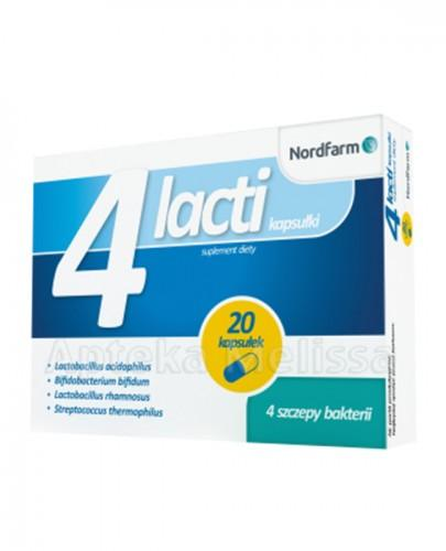 4 LACTI - 20 kaps. (4Lacti )