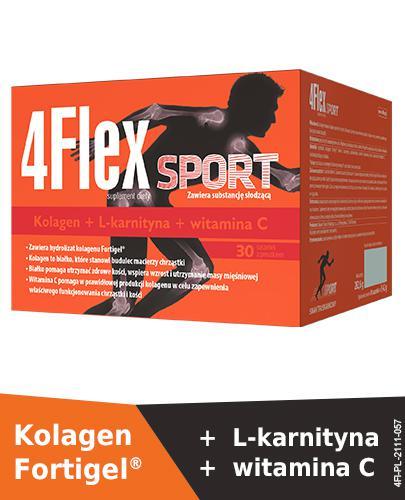 4FLEX SPORT - 30 sasz. Dla osób uprawiających sport.  - Drogeria Melissa