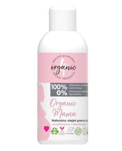 4Organic Naturalny olejek przeciw rozstępom - 100 ml - cena, opinie, skład - Apteka internetowa Melissa
