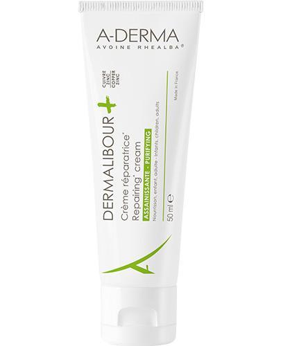 A-DERMA DERMALIBOUR+ Krem regenerujący - 50 ml - cena, opinie, skład - Apteka internetowa Melissa
