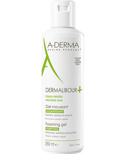 A-DERMA DERMALIBOUR+ Żel do mycia - 250 ml - cena, opinie, skład
