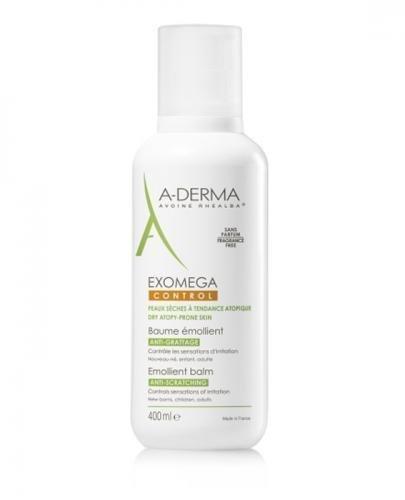 A-DERMA EXOMEGA CONTROL Balsam emolient - 400 ml - cena, opinie, działanie