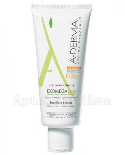 A - DERMA EXOMEGA DEFI - 200 ml - cena, opinie, właściwości - Apteka internetowa Melissa