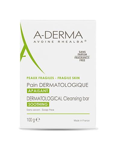 A-DERMA Kostka dermokosmetyczna - 100 g - cena, opinie, właściwości - Drogeria Melissa