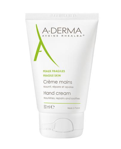 A-DERMA Regenerujący krem do rąk - 50 ml - cena, opinie, właściwości - Drogeria Melissa