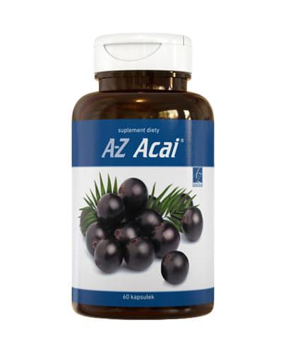 A-Z ACAI - 60 kaps. Regulacja metabolizmu i zahamowany apetyt. - Apteka internetowa Melissa