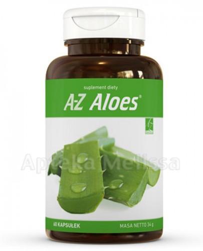 A-Z ALOES - 60 kaps. - Drogeria Melissa