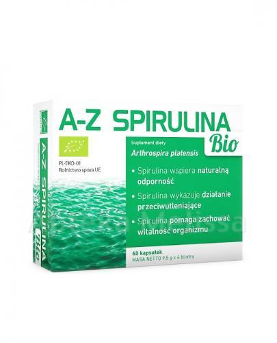 A-Z SPIRULINA Bio - 60 kaps. - Apteka internetowa Melissa