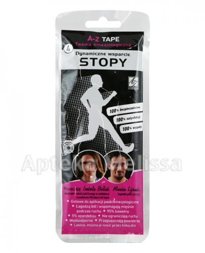 A-Z TAPE Taśma kinezjologiczna dynamiczne wsparcie stopy - 1 szt. - Apteka internetowa Melissa