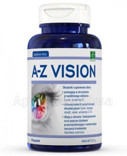 A-Z VISION Preparat łagodzący zmęczenie oczu - 90 kaps. - Drogeria Melissa