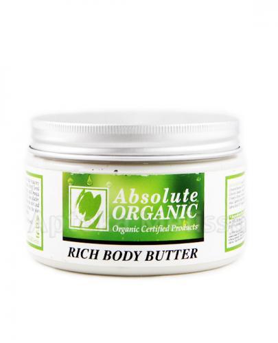 ABSOLUTE ORGANIC Organiczne masło odżywcze do ciała - 250 ml - Apteka internetowa Melissa