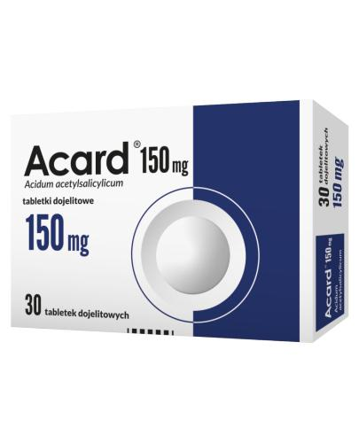 ACARD 150 mg - 30 tabl. - Apteka internetowa Melissa