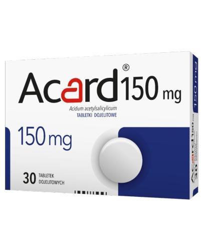 ACARD 150 mg - 60 tabl. - Apteka internetowa Melissa