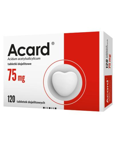 ACARD 75 mg - 120 tabl.