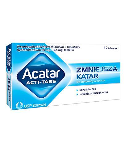ACATAR ACTI-TABS - 12 tabl.