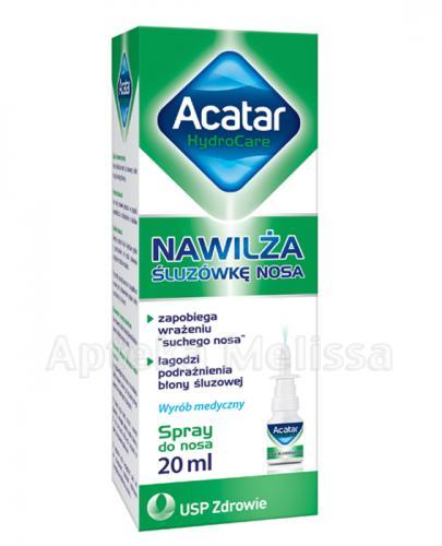 ACATAR HYDROCARE Spray do nosa - 20 ml - Apteka internetowa Melissa