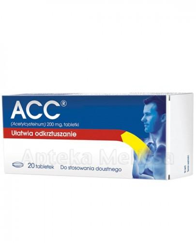 ACC 200 mg  - 20 tabl.  - Apteka internetowa Melissa
