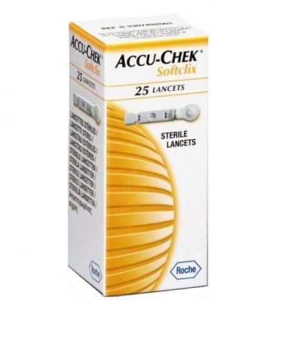 ACCU-CHEK SOFTCLIX Lancety - 25 sztuk - Apteka internetowa Melissa