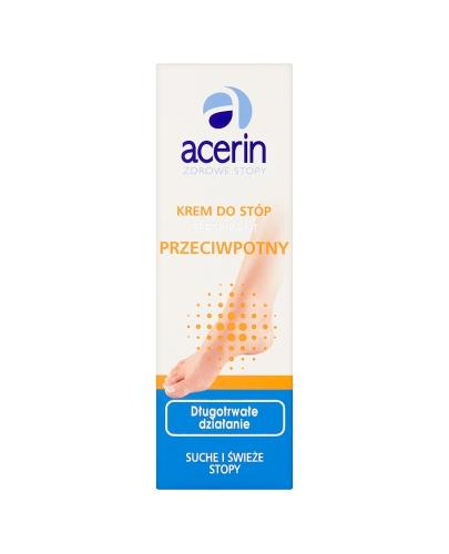 ACERIN PERSPIRANT Krem przeciwpotny do stóp - 75 ml - Drogeria Melissa