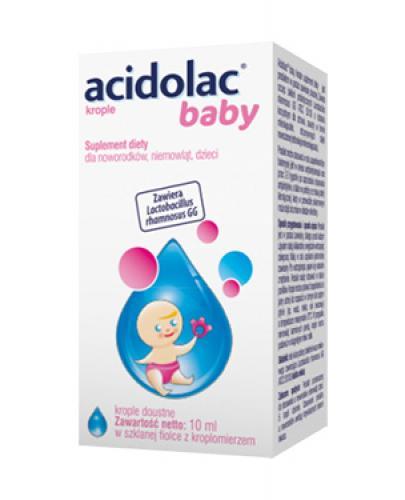 ACIDOLAC BABY Krople doustne - 10 ml - Apteka internetowa Melissa