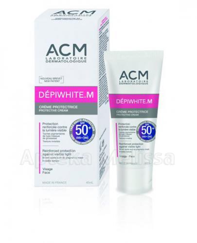 ACM DEPIWHITE M Krem przeciwsłoneczny SPF50+ - 40 ml - Apteka internetowa Melissa