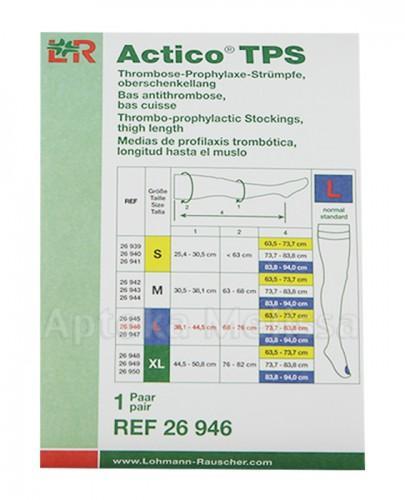 Pończochy uciskowe o rozmiarze L - 1 para ACTICO TPS - Apteka internetowa Melissa