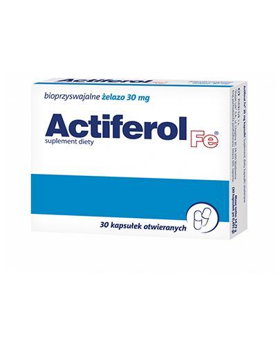 ACTIFEROL FE 30 mg - 30 kaps. - Drogeria Melissa
