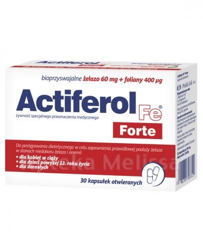 ACTIFEROL FE FORTE - 30 kaps. - Apteka internetowa Melissa