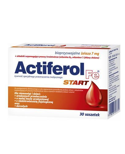 ACTIFEROL FE START 7 mg - 30 sasz. - Drogeria Melissa