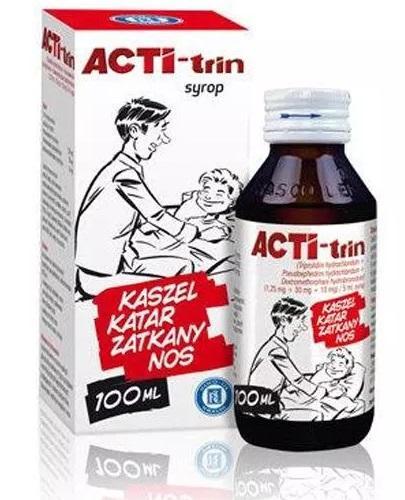 ACTITRIN Syrop - 100 ml - Apteka internetowa Melissa