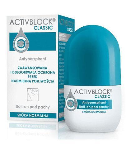 ACTIVBLOCK CLASSIC Roll-on - 25 ml