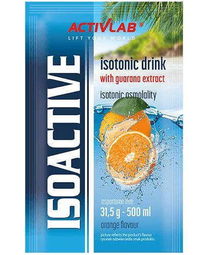 ActivLab Isoactive Koncentrat napoju izotonicznego instant o smaku pomarańczowym - 31,5 g - cena, opinie, stosowanie - Apteka internetowa Melissa