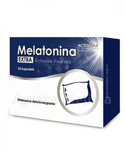 ACTIVLAB PHARMA MELATONINA EXTRA B6 5mg  - 30 kaps. - Apteka internetowa Melissa