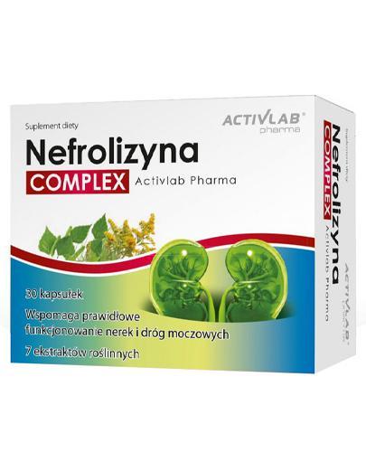 ActivLab Pharma Nefrolizyna Complex - 30 kaps. - cena, opinie, dawkowanie - Apteka internetowa Melissa