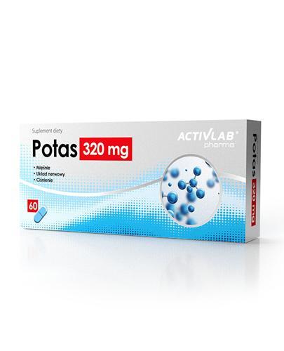 ACTIVLAB PHARMA Potas 320 mg - 60 kaps. - Apteka internetowa Melissa