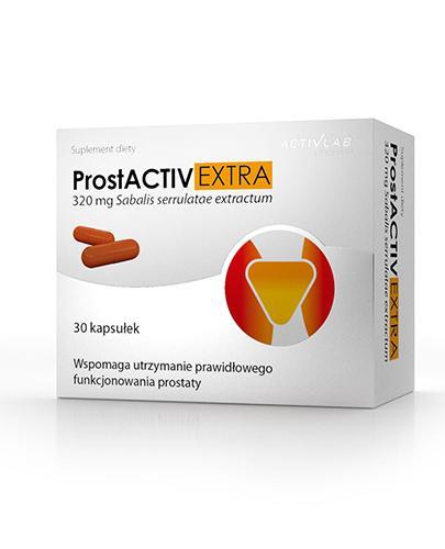 Activlab Pharma ProstActiv Extra 320 mg - 30 kaps. Na prostatę - cena, opinie, właściwości  - Drogeria Melissa