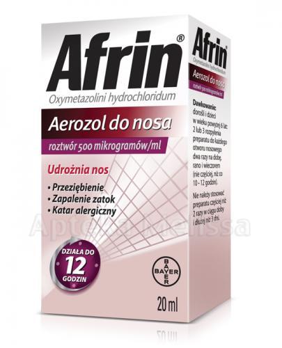 AFRIN 0,05 Aerozol - 20 ml - Apteka internetowa Melissa