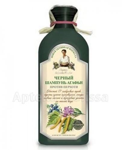 AGAFII Szampon ziołowy czarny przeciwłupieżowy - 350 ml  - Apteka internetowa Melissa