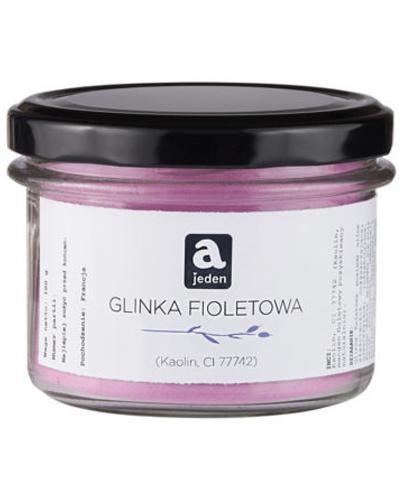 Ajeden Glinka Fioletowa - 100 g - cena, opinie, wskazania - Drogeria Melissa