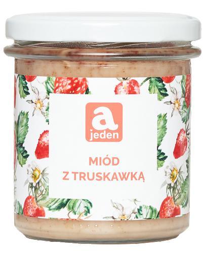 Ajeden Miód z truskawką - 400 g - cena, opinie, właściwości - Drogeria Melissa