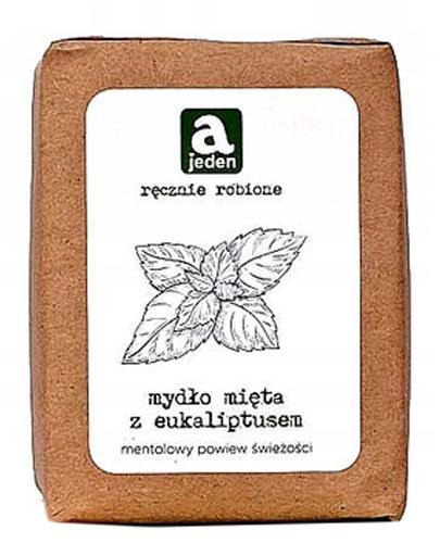 Ajeden Ręcznie robione Mydło mięta z eukaliptusem - 150 g - cena, opinie, właściwości - Drogeria Melissa