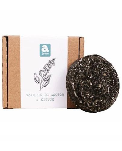 Ajeden Szampon do włosów w kostce ręcznie robiony Szałwia - 74 g - cena, opinie, właściwości - Drogeria Melissa