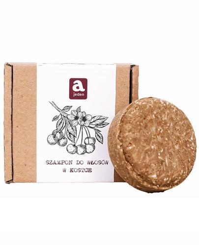 Ajeden Szampon do włosów w kostce ręcznie robiony Wiśnia - 74 g - cena, opinie, skład