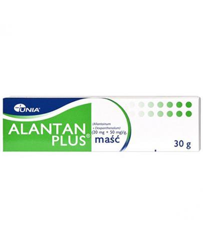 ALANTAN PLUS Maść - 30 g - na odparzenia - cena, opinie, stosowanie - Apteka internetowa Melissa