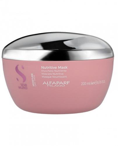 Alfaparf Semi di Lino Moisture Nutritive Maska nawilżająca do włosów suchych - 200 ml - cena, opinie, właściwości