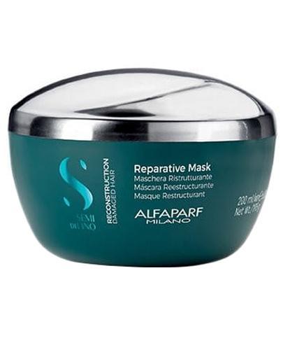 Alfaparf Semi di Lino Reconstruction Reparative Maska regenerująca do włosów zniszczonych - 200 ml - cena, opinie, właściwości - Drogeria Melissa