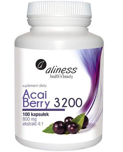 ALINESS Acai Berry 3200 - 100 kaps. - Apteka internetowa Melissa