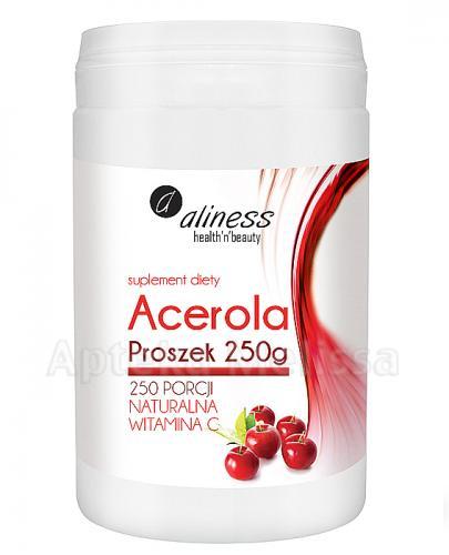 ALINESS Acerola proszek - 250 g - Apteka internetowa Melissa